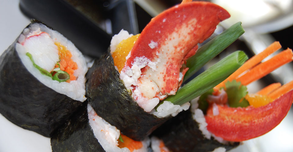Saltus Grill - Sushi Menu