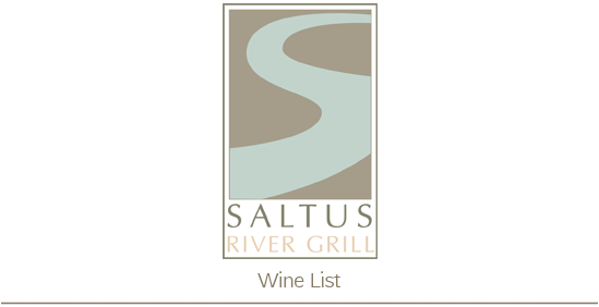 Saltus Wine Menu