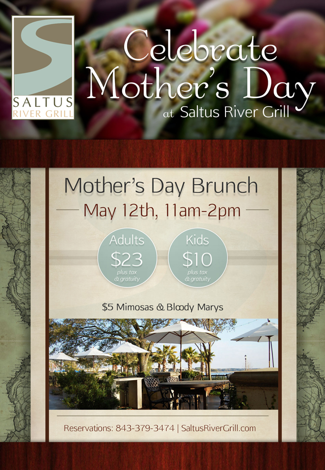Mother's Day Brunch | Saltus River Grill | Beaufort SC