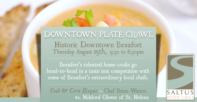 Downtown Beaufort Plate Crawl | Saltus River Grill