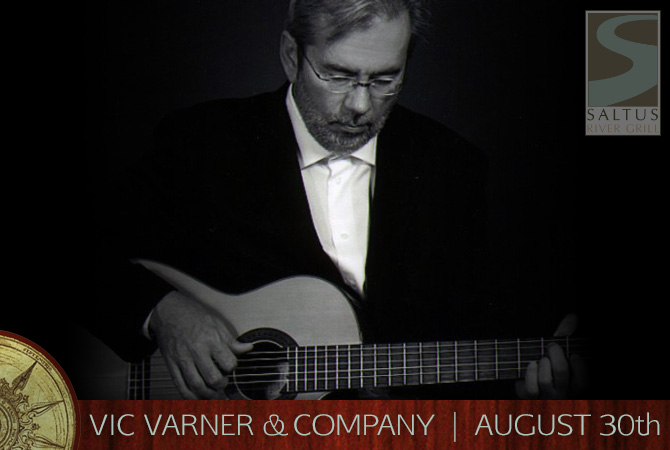 Labor Day Weekend Live Music | Vic Varner | Saltus River Grill