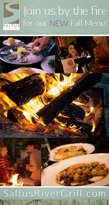 Wine, Fire and Terrific New Tastes on our Fall Menu!