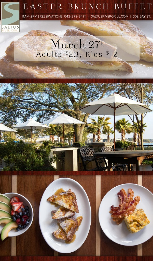 Beaufort Easter Brunch Buffet at Saltus River Grill