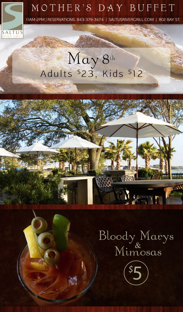 Easter Brunch in Beaufort SC | April 5th 2015 | Saltus River Grill | Downtown Beaufort